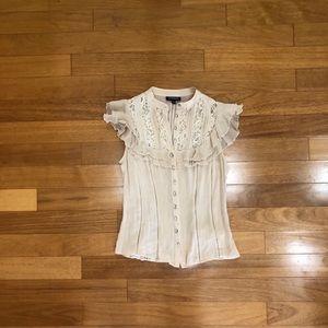 Bebe short sleeve blouse